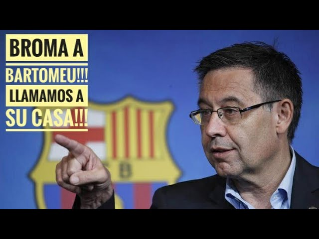 BROMA!! Jesús San Silvestre llama a la casa de BARTOMEU!! Que está pasando con Messi?