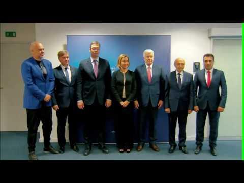 """""""Deutsche Welle"""": Takimi me Mogherinin, veshja e Ramës la përshtypje të madhe, tema më e komentuar"""