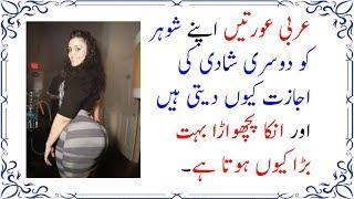عربی شوہر ایسا کیا کرتے ہیں کہ انکی بیوی کا پچھواڑا موٹا ہو جاتا ہے اور دوسری شادی کرتے ہیں