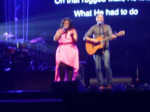 Brandon Heath with Mandisa - He Paid It All - Longwood, FL