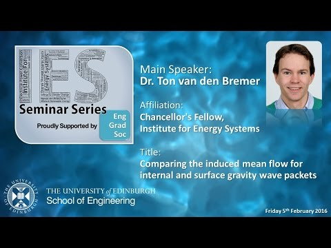 Comparing the Induced mean flow for Internal and Surface Gravity Wave Packets - Dr T van den Bremer