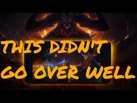 Diablo Immortal Announced As A Mobile Game And Fans Fly Into A Disappointed Fury