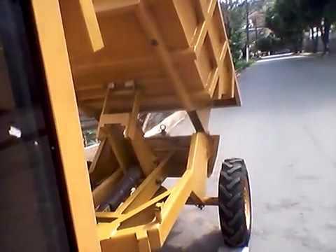 CTGM MAQUINAS Trator caseiro articulado 4x4 ligado homemade articulated truck AWD