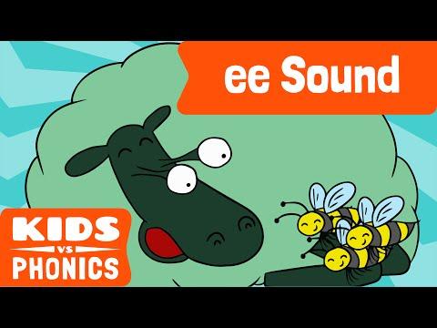 ee | Fun Phonics | How to Read | Made by Kids vs Phonics