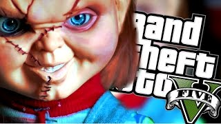 LALKA CHUCKY I DUCHY W GTA! | GTA 5 HALLOWEEN MODY