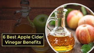 Top 6 Apple Cider Vinegar Benefits | ACV For wWeight Loss, Acne, Itchy Bug Bites and Sore Throat