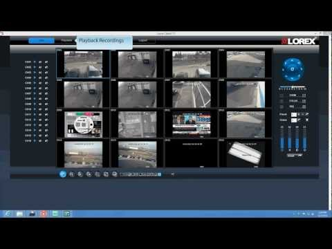 How to set up ECO security DVR system on PC - Lorex Client 11 Software
