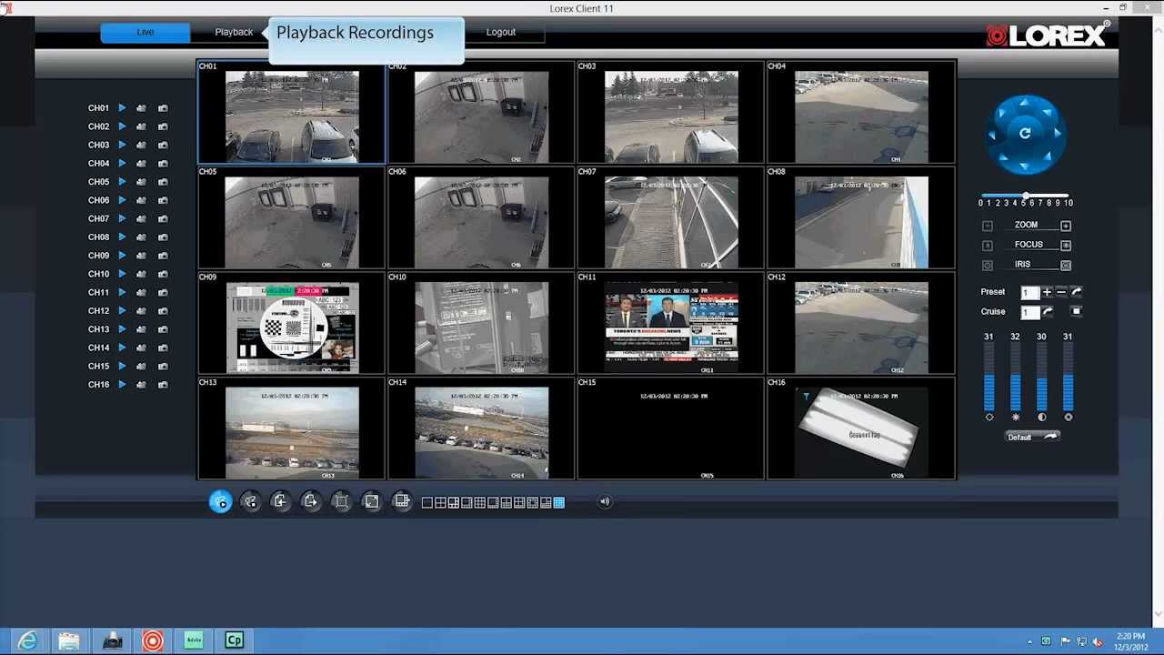 How To Set Up Eco Security Dvr System On Pc Lorex Client
