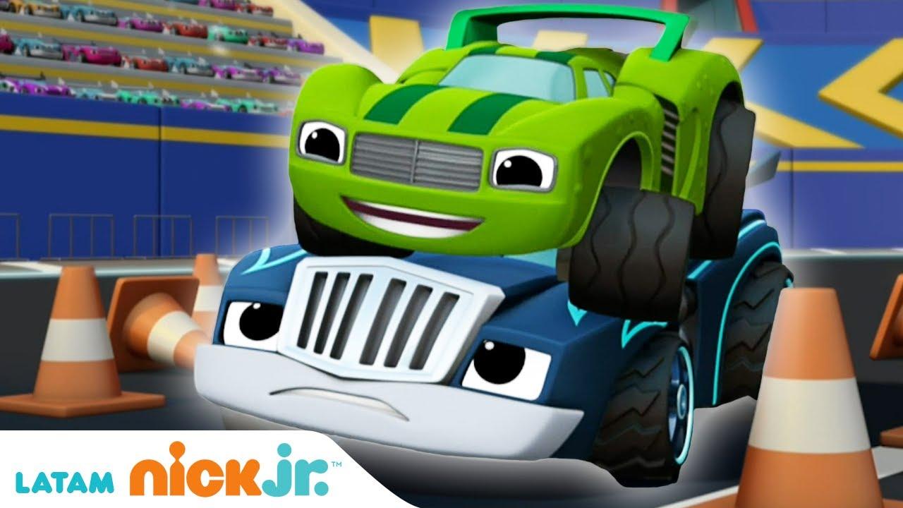 Blaze and the Monster Machines   Lo mejor de Crusher y Pickle - parte 3   Nick Jr.