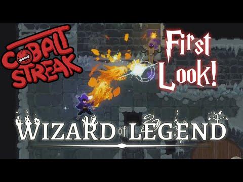 Wizard Of Legend First Look! - Cobalt Streak