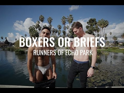 2018 | Shirtless Runners Answer Boxers or Briefs with DanielXMiller | Men\'s Fashion in Underwear