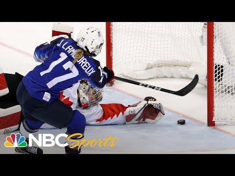 Watch the full shootout between the USA and Canada