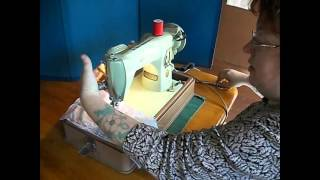 Singer 15-125 Sewing Machine Demo Video