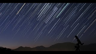 2018 Perseid Meteor Shower Time Lapse Video