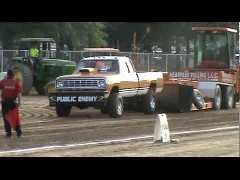 Full Pull Productions, Pro Street GAS, Trumbull County Fair, Cortland,  Ohio, 7/1/11 by trailerpro