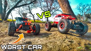 Rc Desert Rock Crawler vs Rc Rock crawler - 4x4 Offroad trucks
