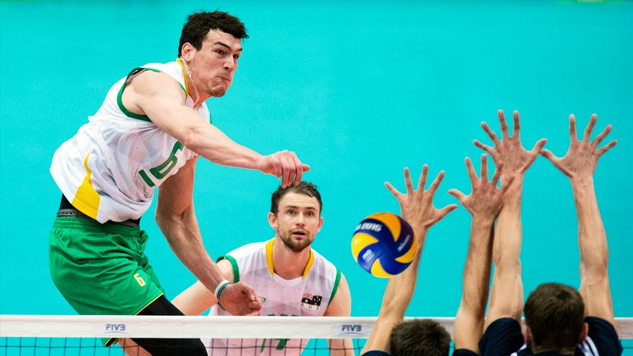 50 Points in One Match | Thomas Edgar | Height: 212cm - Spike: 357 cm | Volleyball Giant (HD)