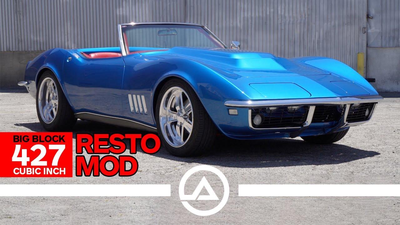 Stunning '68 Big Block 427 C3 Corvette Garage Built Restomod