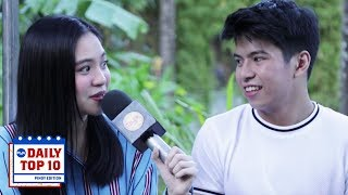 Did NASH AGUAS And SHARLENE SAN PEDRO Find It Awkward Working With Each Other Again?