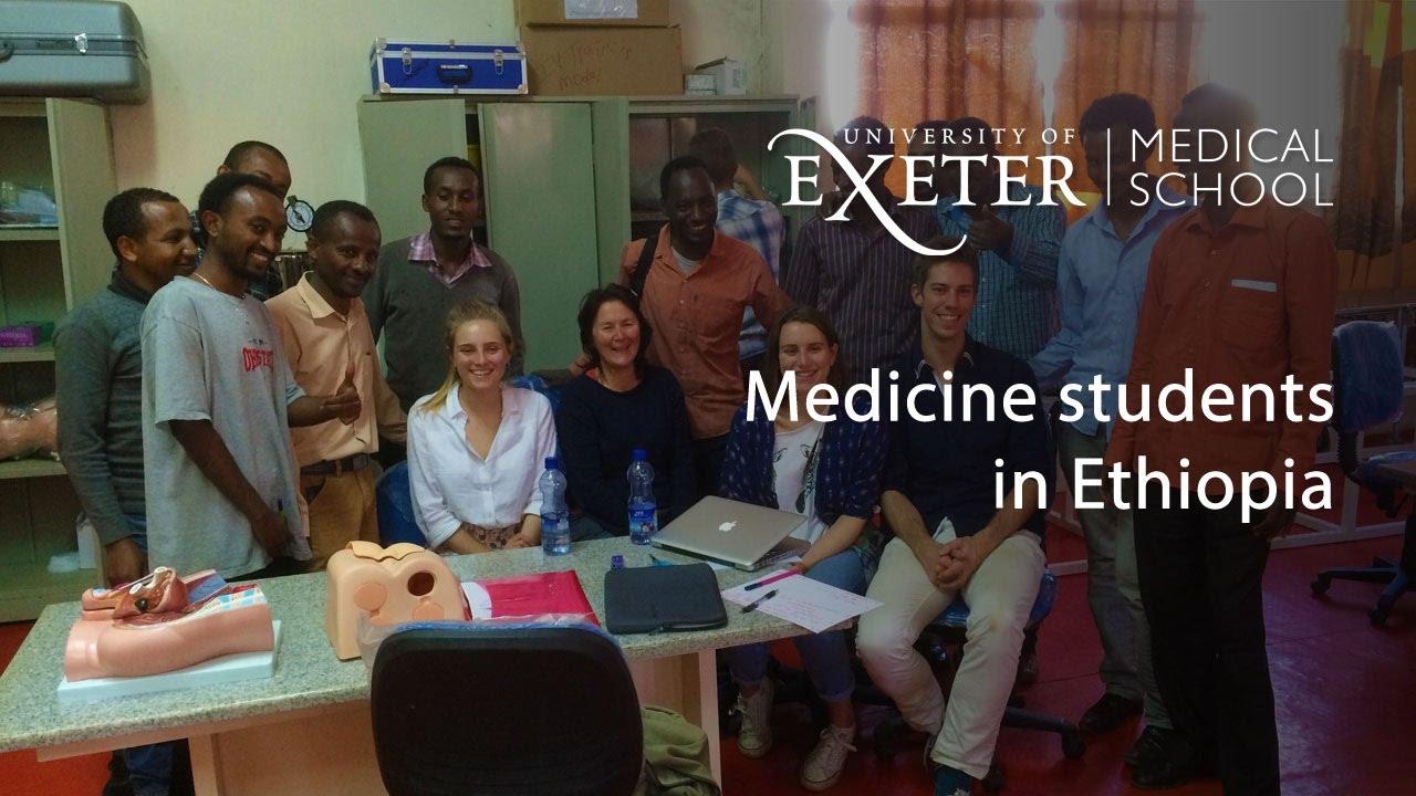 Medicine students at Wollega University, Ethiopia