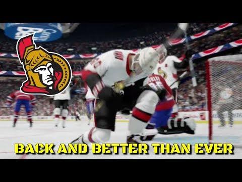 BACK AND BETTER THAN EVER - NHL 18 - Ottawa Senators Be A Pro Ep. 19