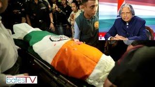 Shillong: Former President of India, Dr  APJ Abdul Kalam passed away at Shillong Hospital