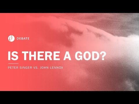 Peter Singer vs John Lennox | Is There a God? Debate