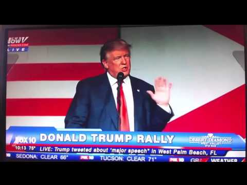 """Trump """"Hillary Is Controlled by International Banks To Destroy US Sovereignty"""""""