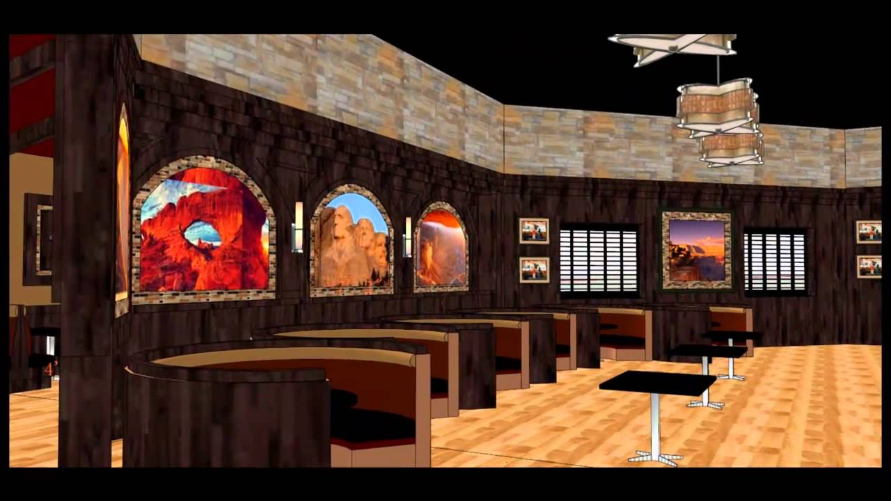 Restaurant Design - American Family Restaurant - YouTube
