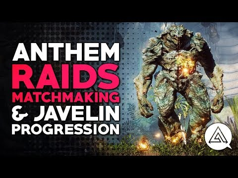 ANTHEM | Raids, Raid Matchmaking & Changes to Javelin Progression