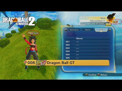 How To Get Logos (Titles) Next To Your Character's Name In Dragon Ball Xenoverse 2