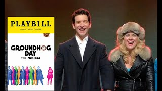 Andy Karl - Groundhog Day - Curtain Call 05/30/17