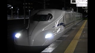 N700S三河安城駅入線発車(18.12.26)