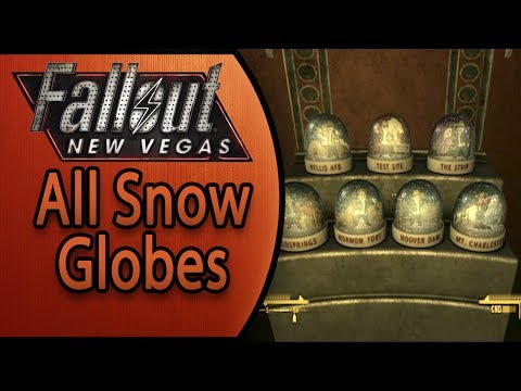 Fallout New Vegas - All Snow Globe Locations - Globe Trotter Achievement/Trophy Guide