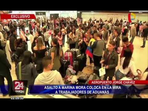 Asalto a Marina Mora coloca en la mira a trabajadores de Aduanas