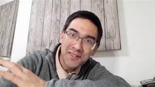 Pluvis. Kaj mi parolis kun du lernantoj en EO. | Esperanto vlogo