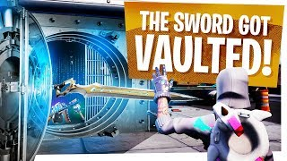 INFINITY BLADE was VAULTED in ONLY 4 Days! - Fortnite Sword GONE, but MORE Mythic Weapons Coming?