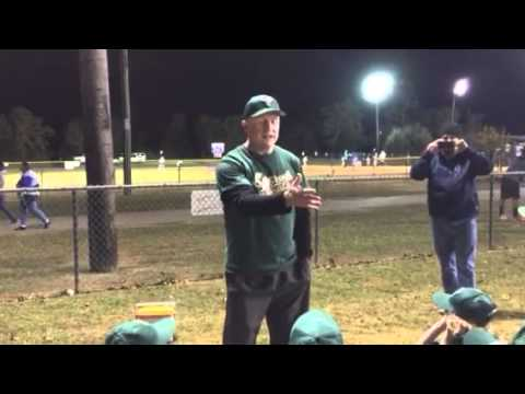 Little League Pregame Speech-