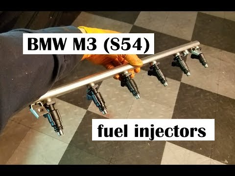 Fuel Injectors DIY, Testing & Cleaning - BMW E46 M3 & Z4 M (S54)