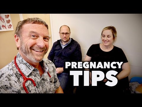 HEALTHY PREGNANCY TIPS + prenatal visit (with Dr. Paul)