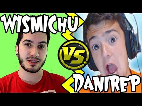DANIREP vs WISMICHU - Salseo Youtuber