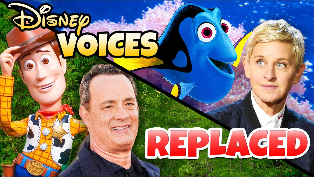 Top 7 Disney Character Voices Replaced on Disney Rides - Disney World & Disneyland