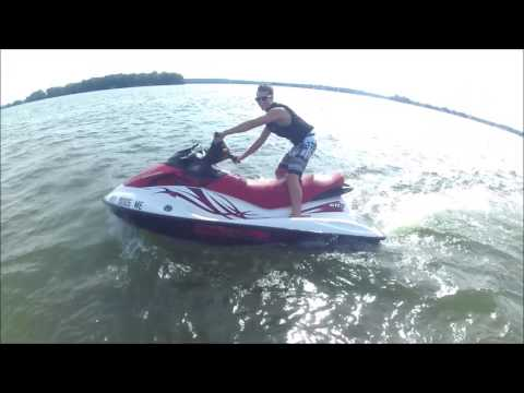 Fun on jet skis, lake Ontario, NY