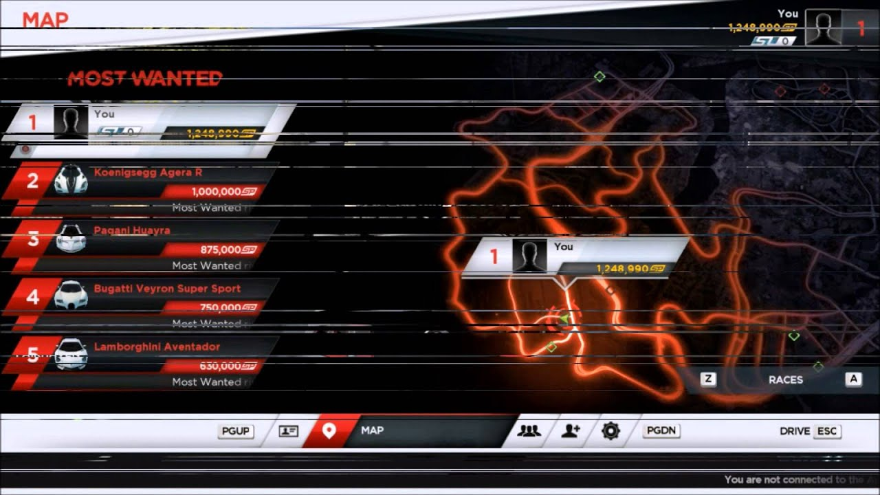 Nfs Most Wanted 2012 2 Where To Find All Cars In Game