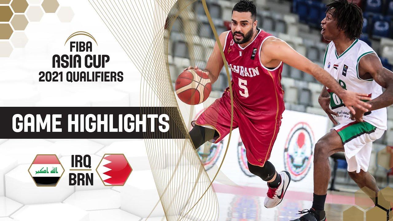 Iraq - Bahrain | Highlights - FIBA Asia Cup 2021 Qualifiers