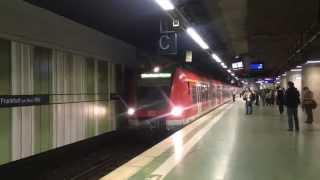 【ドイツ】 フランクフルトSバーン フランクフルト・アム・マイン中央駅 Frankfurt S-Bahn Frankfurt am Main Hbf, Germany (2014.4)