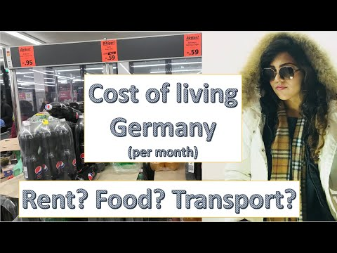 Living Expense in Germany per month (EXPENSE CALCULATOR) + ACCOMMODATION + Student Life Germany 2018