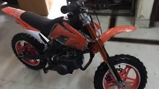 Unboxing and assembling of 49cc kids dirt pocket bike self start Delivery all INDIA #99enterprises