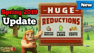 Update Clash of Clans Spring update Release Time & Cost Balancing 2019