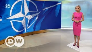 Трамп в Брюсселе, Обама в Берлине, а Меркель и там, и там - DW Новости (25.05.2017)